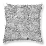 Confusion Throw Pillow