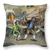 Congressional Pugilists Throw Pillow