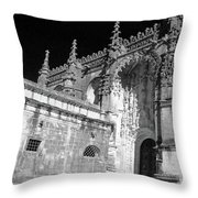 Convent Of Christ Throw Pillow