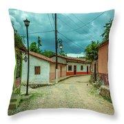 Copala Cobblestone Street Throw Pillow