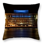 Copenhagen Opera House Throw Pillow