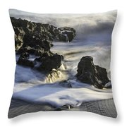 Coral Cove Park 4430 Throw Pillow