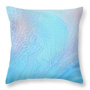 Coral Moods 2 Throw Pillow