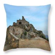 Corbara - Corsica Throw Pillow
