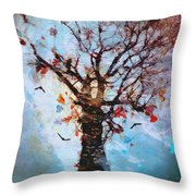 #words Like Confetti Throw Pillow