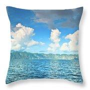 Coron Panorama Throw Pillow