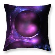 Cosmic Plasma Throw Pillow