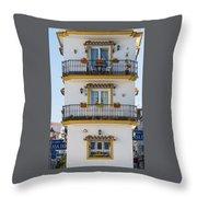Costa Del Sol   Spain Throw Pillow