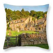 Cotswolds Evening Throw Pillow