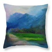 Country Road 03 Throw Pillow