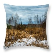 Country Winter 3 Throw Pillow