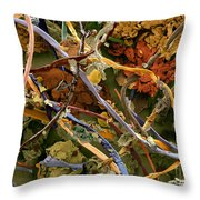 Countryside Household Dust Throw Pillow