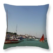 Cowes Throw Pillow