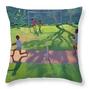 Cricket Sri Lanka Throw Pillow by Andrew Macara