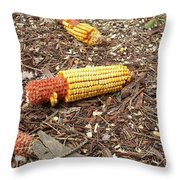 Critters Delight Throw Pillow