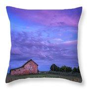 Crocheron Skies Throw Pillow