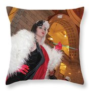 Cruella Throw Pillow