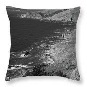 Cruisin The Coast Throw Pillow