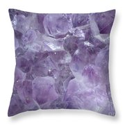Crystal Cave Throw Pillow