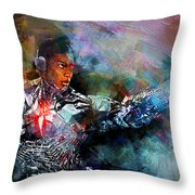 Cyborg Throw Pillow
