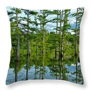 Cypress Grove Throw Pillow