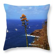 Daggers Los Antigua Throw Pillow