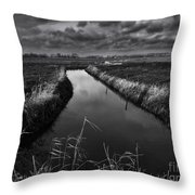 Damme, Belgium Throw Pillow