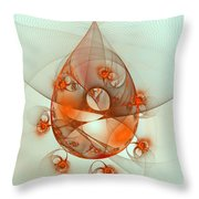 Dance Of The Netcasters Throw Pillow