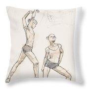 Dance Studies Throw Pillow