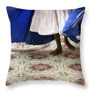 Dancer Cuba Throw Pillow