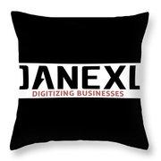Danexu Technologies Logo Throw Pillow