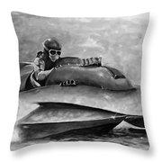 Dash And Splash Throw Pillow