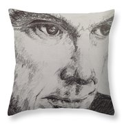 David Byrne  Throw Pillow