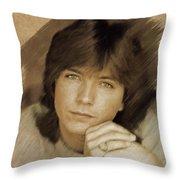 David Cassidy, Actor Throw Pillow