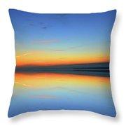 Dawn At Kempenfelt Bay Six  Throw Pillow