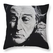 De Niro Throw Pillow