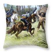 De Soto: Florida, 1539 Throw Pillow