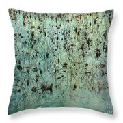 Dead Lotuses Throw Pillow