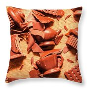Death By Chocolate Throw Pillow