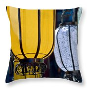 Decorative Lanterns Throw Pillow