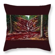 Deepwoods Cascade Throw Pillow