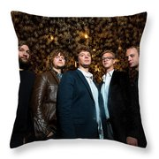 Deer Tick Portrait By Anna Webber Throw Pillow