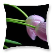 Delicacy Throw Pillow by Tracy Hall