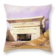 Dendera Temple Complex, 1938 Throw Pillow