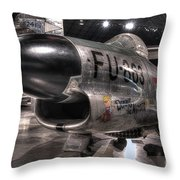 Dennis The Menace, North American, F-86d Sabre Throw Pillow