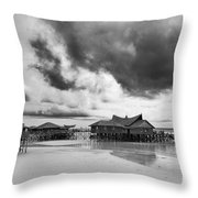 Derawan Island Throw Pillow