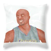 Derek Fisher Throw Pillow