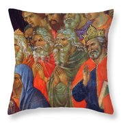 Descent Into Hell Fragment 1311  Throw Pillow