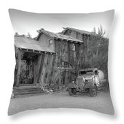 Desert Car By Sheri Harvey Shargraphics.com Throw Pillow