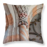 Details Of Religious Art  Throw Pillow